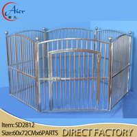 5ft dog kennel cage dog crates kennels steel