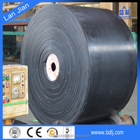Endless Flat EP/NN Rubber Conveyor Belt with China Plant
