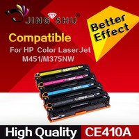 toner cartridge CE410A CE411A CE412A CE413A compatible for HP M451/M451dn/M375/M475/M300
