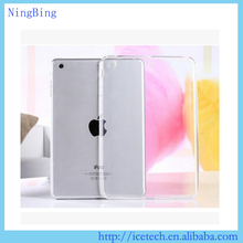 Newest Ultra slim soft transparent tpu cover for ipad mini 4 case