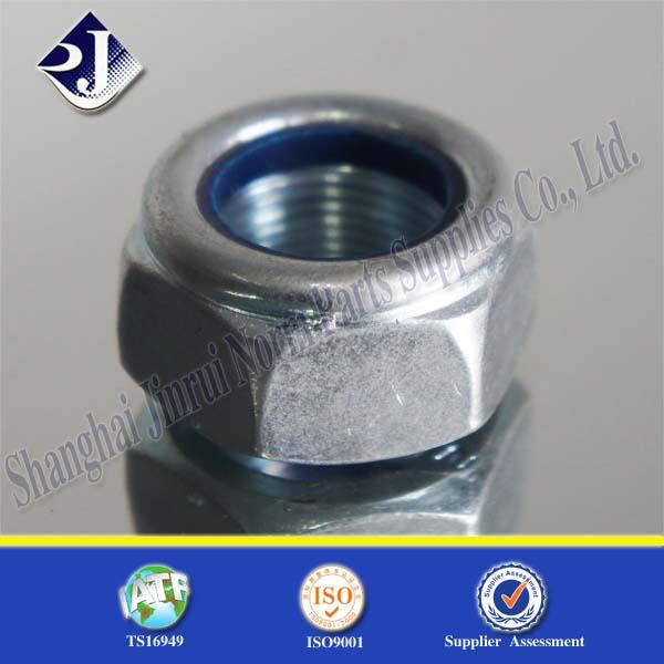 Alibaba online shopping carbon steel galvanized lock nut