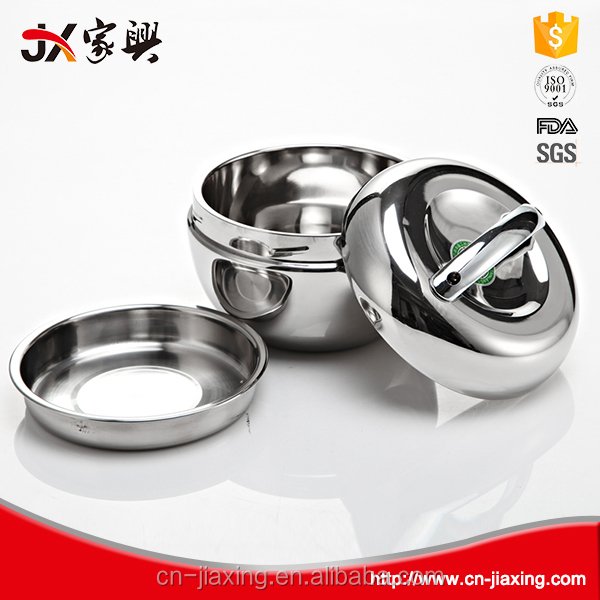 Quality assurance odorless stainless steel food warmer bento lunch box