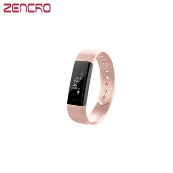 Zencro 2017 Newest Removable Fitbit Bluetooth Smart Wristband Pedometer Activity Tracker Similar to Fitbit Alta