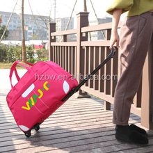 Hot sale 230D oxford fabric polyester classic luggage trolley travel bag