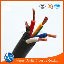 10mm2 pvc insulated copper wire braiding shielded control cable