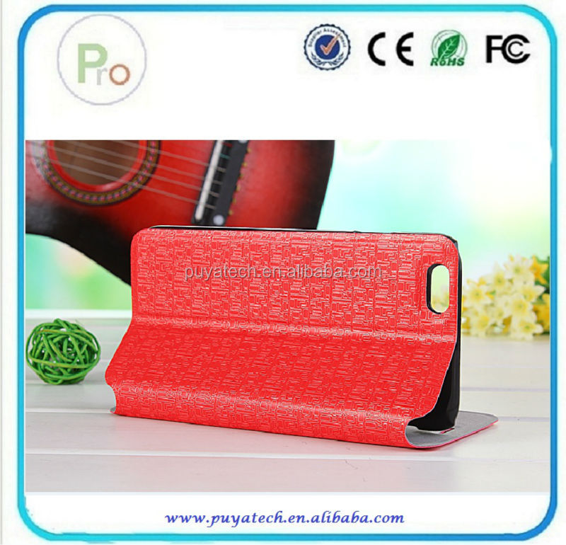 New product pu leather case for iphone6 for iphone 6 case PRO-IP01600