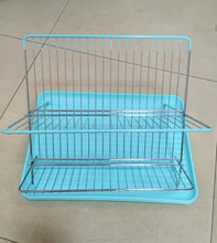 Stainless Steel Folding Dish Drying Rack Sink Organizer Shelf Kitchen Holder