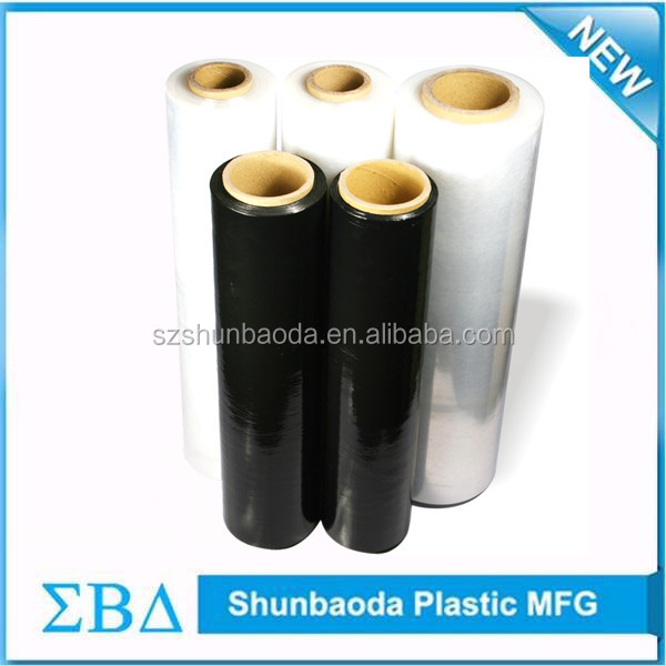 China supplier pe wrapping stretch hood film