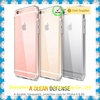 Transparent Hard PC case Shell Clear Back Cover Case For IPhone 6/6 plus