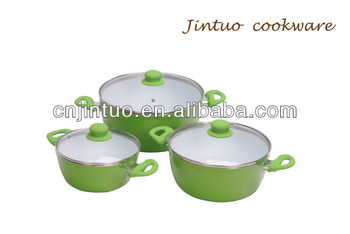 aluminum ceramic cookware pot