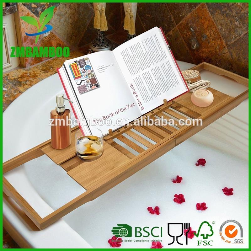 Bamboo Bathtub Caddy, Bamboo Bathtub Caddy direct from Zhong Min ...