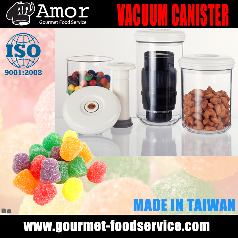 Made In Taiwan Convenient Save Food Vacuum Canister