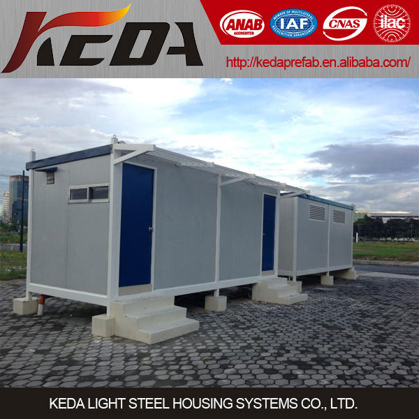 portable toilet container homes for sale