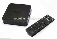 100% Original Smart TV Box HD23 RAM 1GB ROM 8GB Android 4.4 OS Quad core internet smart tv box with webcam