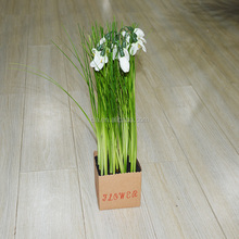 Onion Grass Wisteria Flower Artificial Fabric Flower Parts
