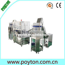 Top level new product for disposable syringe making machine
