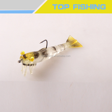 High Quality Fishing Bait soft shrimp fishing lures 6g fishing tackle 9.5cm Soft lure