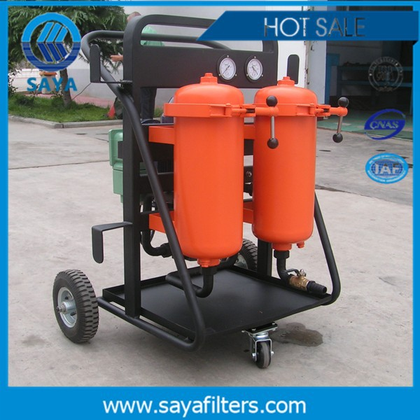 Customized Specialist Waste Oil Recycling Plant Movable Engine Oil Filter Machine