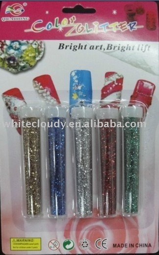 yiwu glitter powder product for kid's