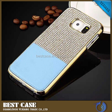 diamond studded cell phone cover for samsung galaxy j7 back cover case