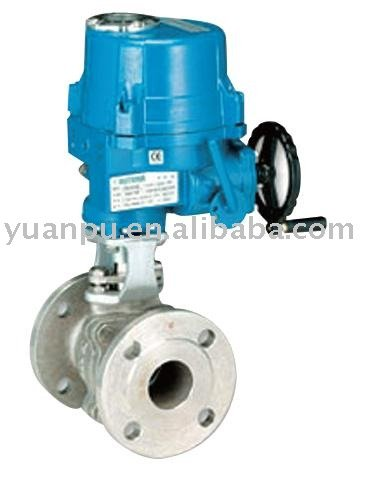 Flanged Electric Motorized Ball Valve