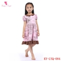 Peter Pan Collar Red Polka Dot Prints Girl Fairy Dress
