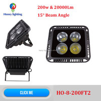 2015 Newest 15 degree 200w LED Flood Light, Alibaba express 200w LED Reflector, Factory price 200w 15 degree LED SpotLight