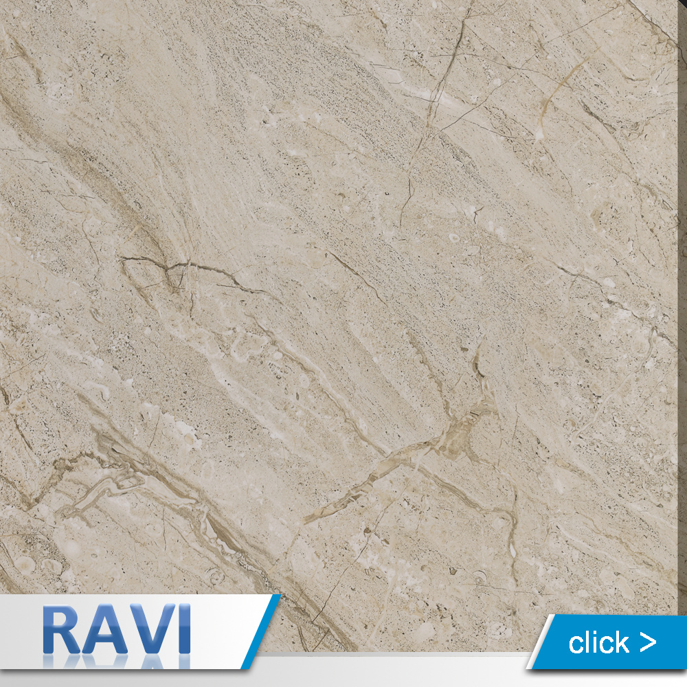 China Travertine Look Tiles 60X60 Porcelain Polished