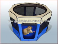 Folding Dog Play Yard with Carrying Bag