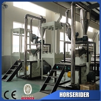 Pvc pulverizer for grinding pet bottle
