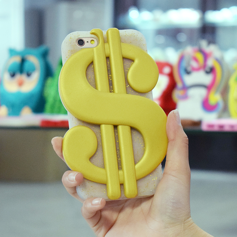 Wholesale Custom Bulk Thick Durable Us Dollar Heavy Duty Protective Smartphone Back Case Cover For 3D Iphone Case