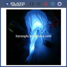 decoration led light jellyfish for Halloween, inflatable jellyfish balloon