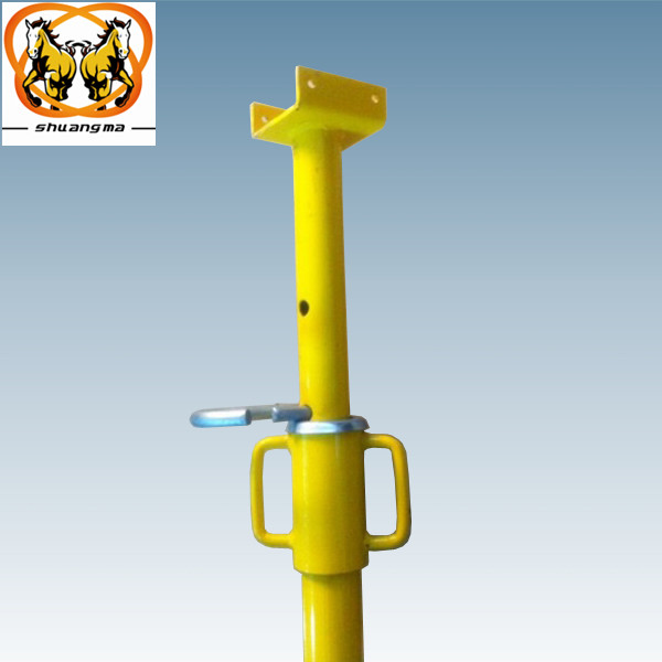 construction heavy duty support adjustable steel building material scaffolding prop ( Real Factory in Guangzhou )