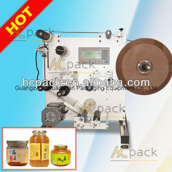 Semi-automatic Self-adhesive Round Bottle Labeling Machine