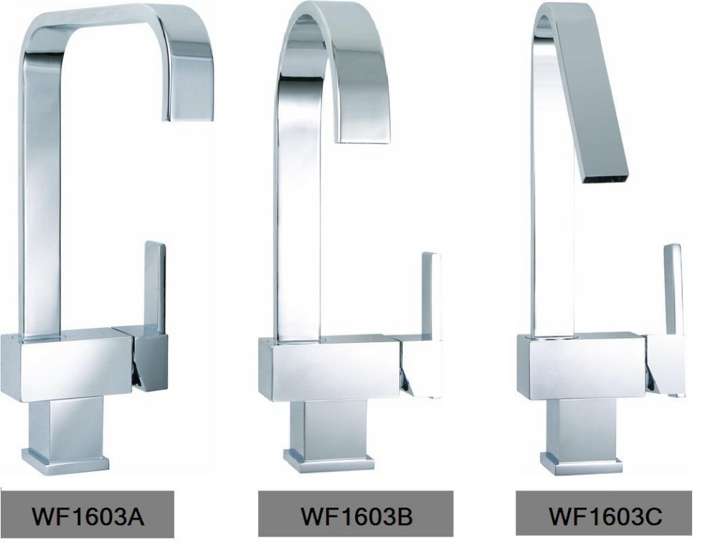 WF1603 Single Lever 360 square lab Kitchen sink water tap