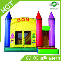 Out door CE certificate 0.55mm PVC jumpy house, jumpy houses, jumpy house for sale