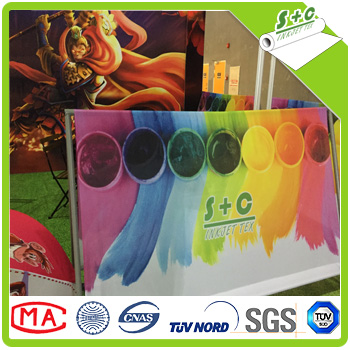 wall hanging stand fabric factory price in zhejiang haining for fabric test