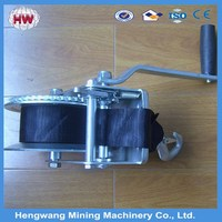 Hot sale small manual winch/manual anchor winch