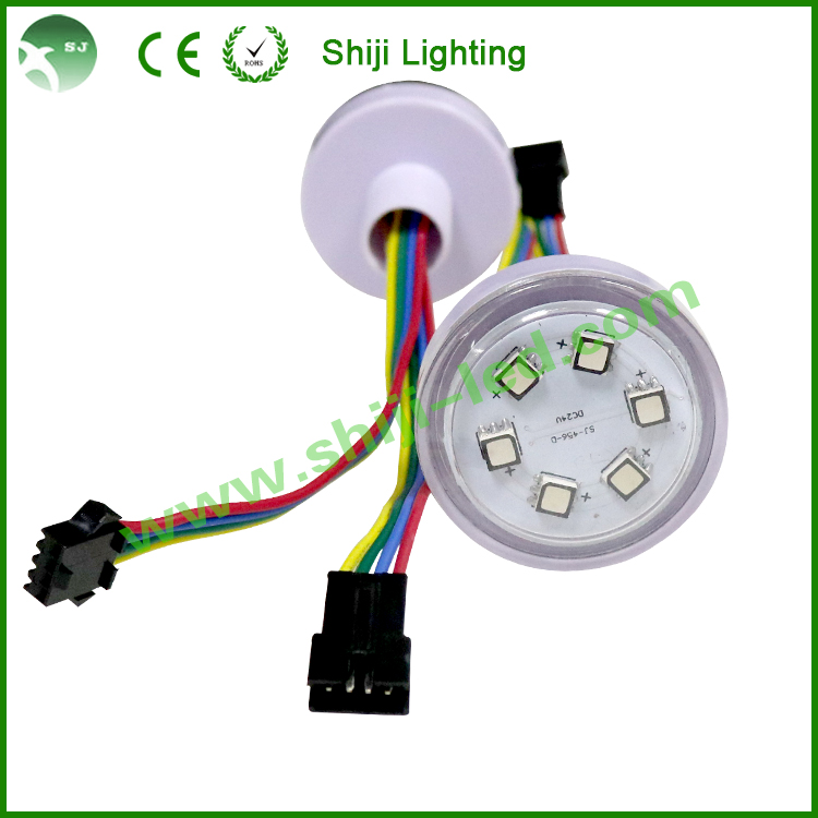 WS2801 dmx 30mm pixel lights for screen display 5050