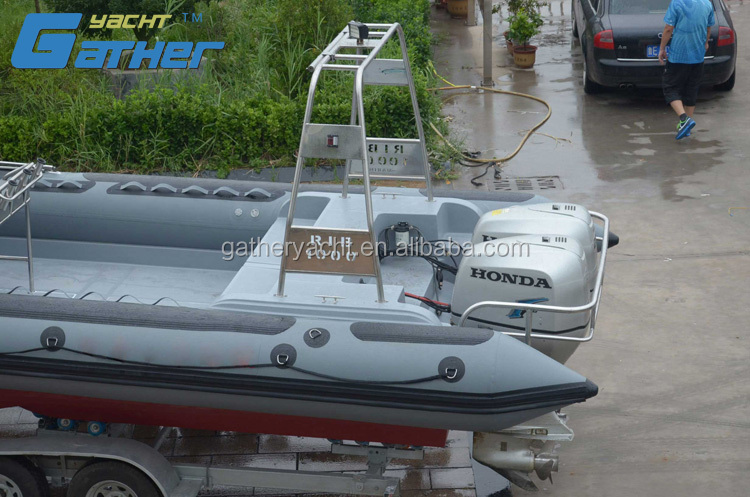 Gather Yacht 10m rigid inflatable boat rib boat
