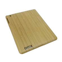 China Supplier Dongguan Factory Mobile Phone Covers Case Natural Bamboo Wood Phone Cases for I Pad 2 3 4