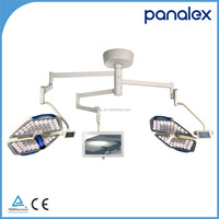 LED operating light with digital camera system Triple arms with monitor