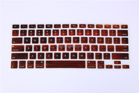 Christmas gift six color keyboard covers, silicone keyboard skins, laptop keyboard cover
