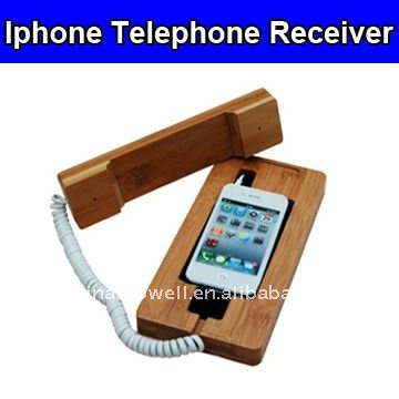 Wired Corded Telephone Receiver for Iphone