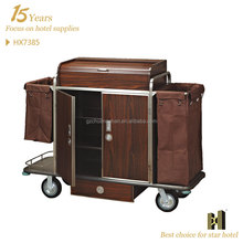 Hotel Guest Room hotel housekeeping maid cart trolley