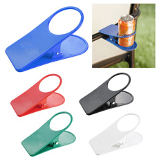 Novelty gift brand logo home cola beer beverage tin water bottle coffee drink office desk edges table plastic clip cup holder