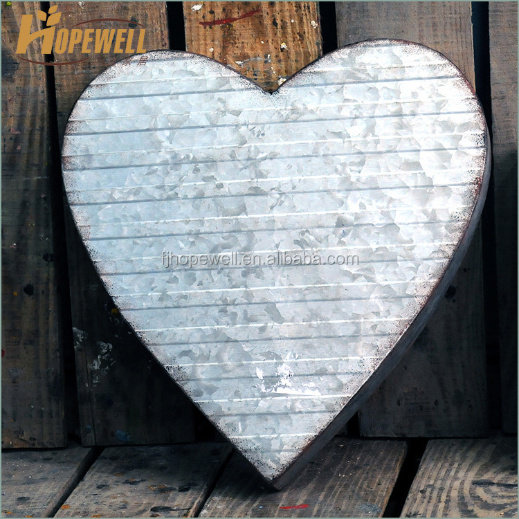 Galvanized metal wedding