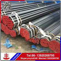 Prime carbon steel seamless pipe/DIN St45 cold rolled seamless iron pipe