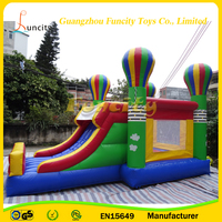 The Balloon theme inflatable bouncy castle for outdoor use
