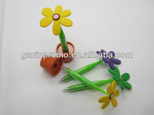 Sun flower pen, novelty pen